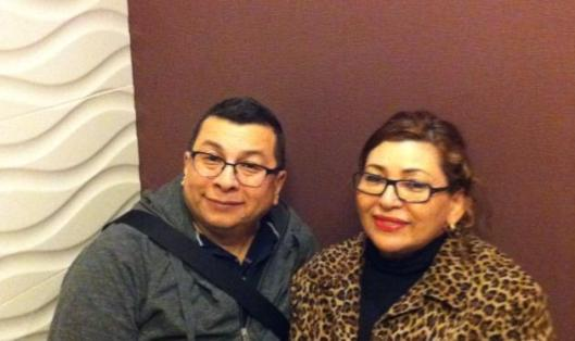 My parents, Tio and Mom