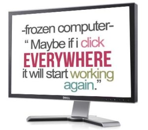 computer freezing