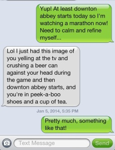 My friends crack me up, Theresa is no exception!