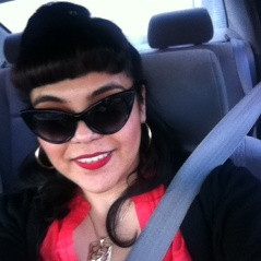 This was me on NYE, on my way to the airport!