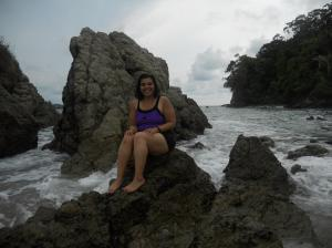 My old bathing suit, hanging tough in beautiful Manuel Antonio, Costa Rica.