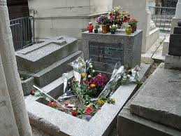 JIm Morrison's Grave, Paris